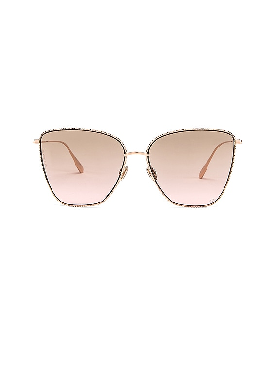 Society Sunglasses in Gold Copper