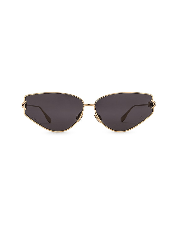 Small Gipsy Sunglasses in Gold & Gray