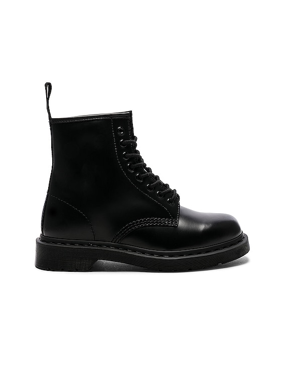 1460 8-Eye Mono Boot in Black Mono
