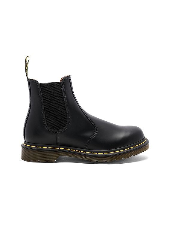 2976 Yellow Stitch Boot in Black
