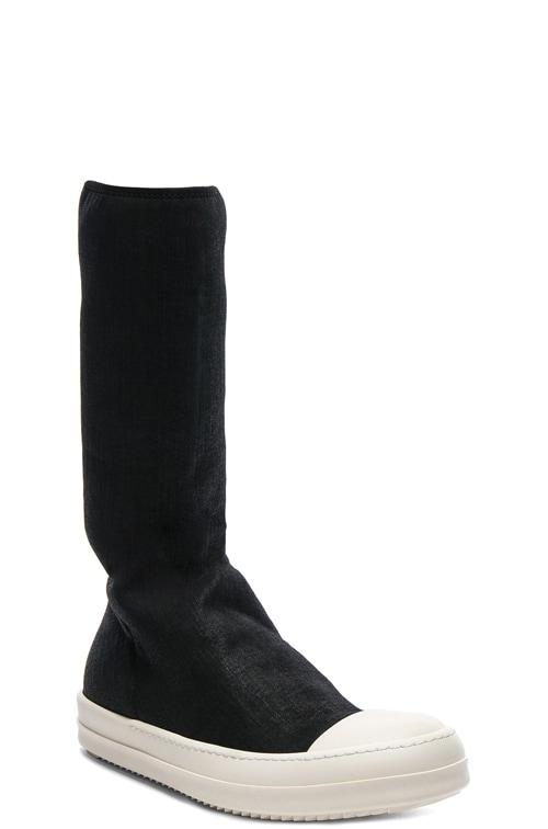 Rick Owens Scarpe Sock Sneakers