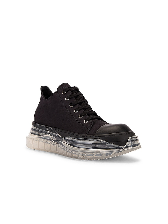 Abstract Sneaker in Black