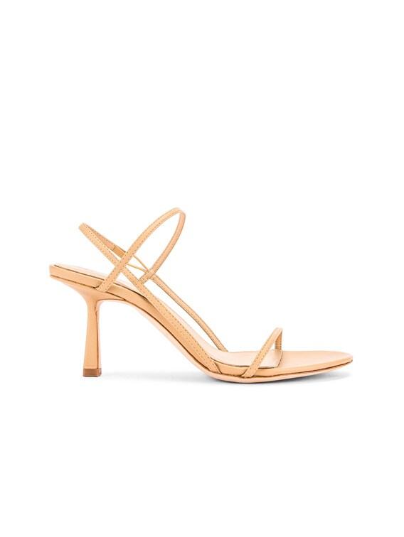 2.3 Slingback Heel in Nude Nappa Leather