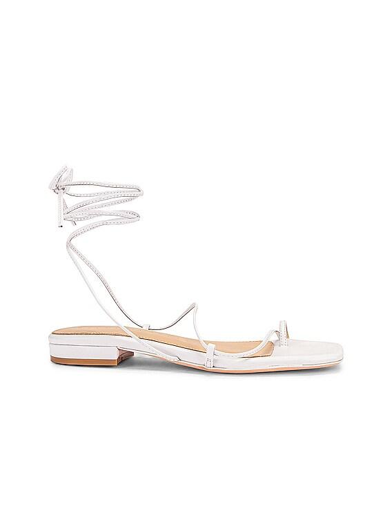 1.1 Sandal in White