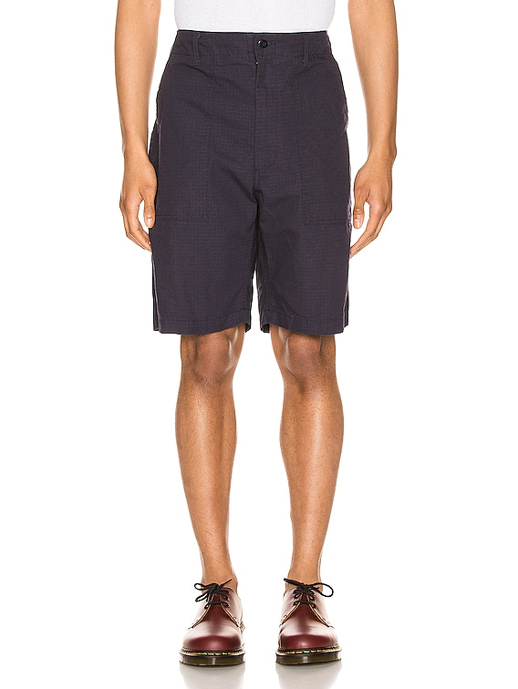 Fatigue Short in Dark Navy Cotton Ripstop