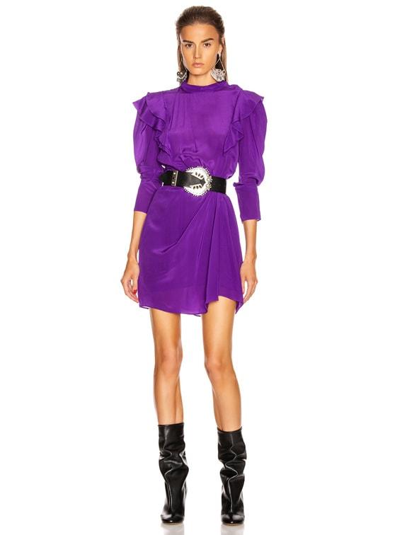 Yoana Dress in Purple