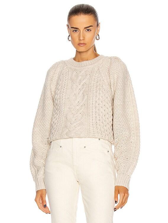 Romy Sweater in Ecru
