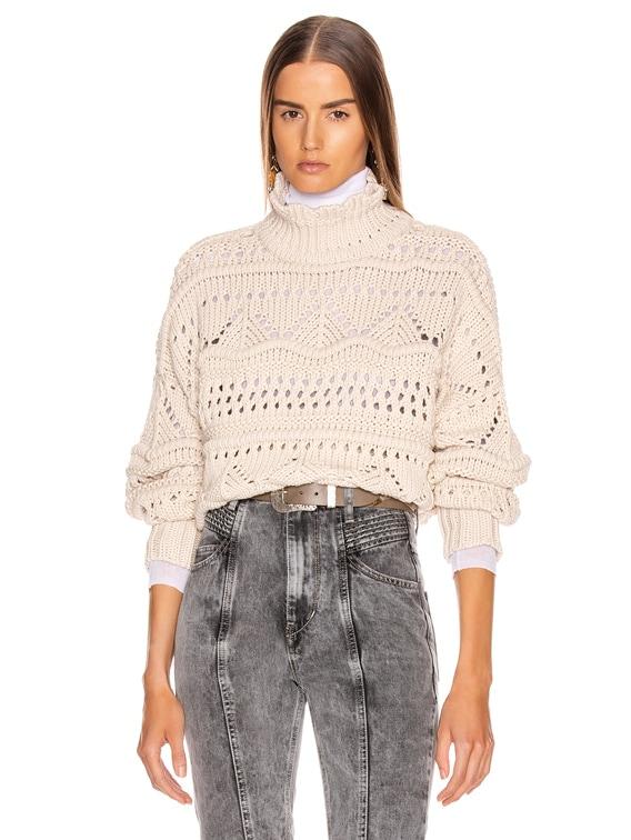 Naka Sweater in Ecru
