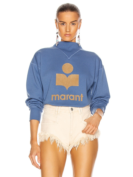 Moby Sweatshirt in Blue