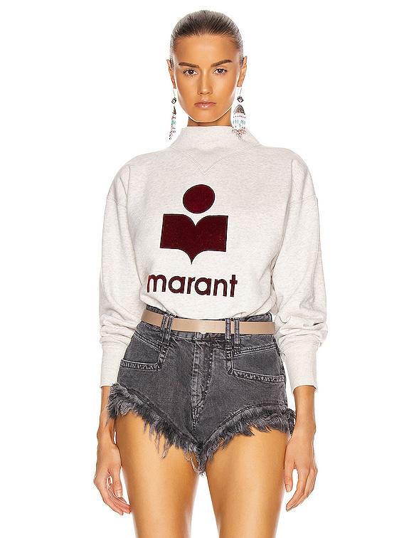 Moby Sweatshirt in Ecru