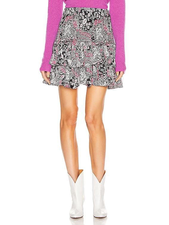 Naomi Skirt in Dark Plum