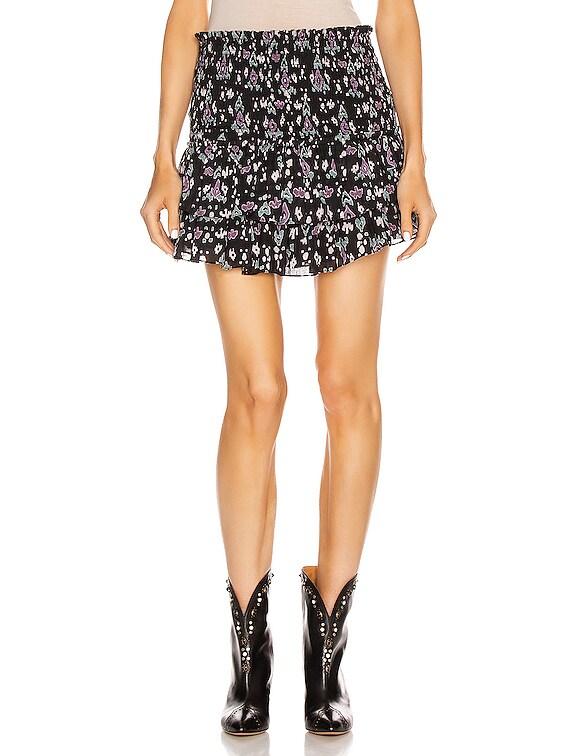 Frinley Skirt in Dark Midnight