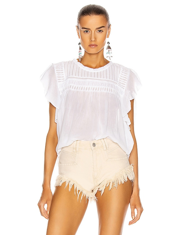 Layona Top in White