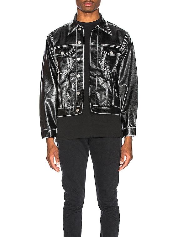 Buck Tar Jacket in Black