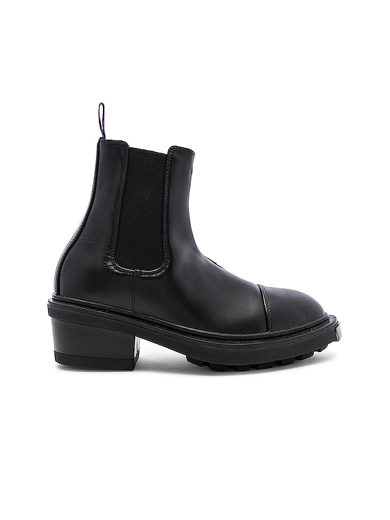 Nikita Leather Boot in Black