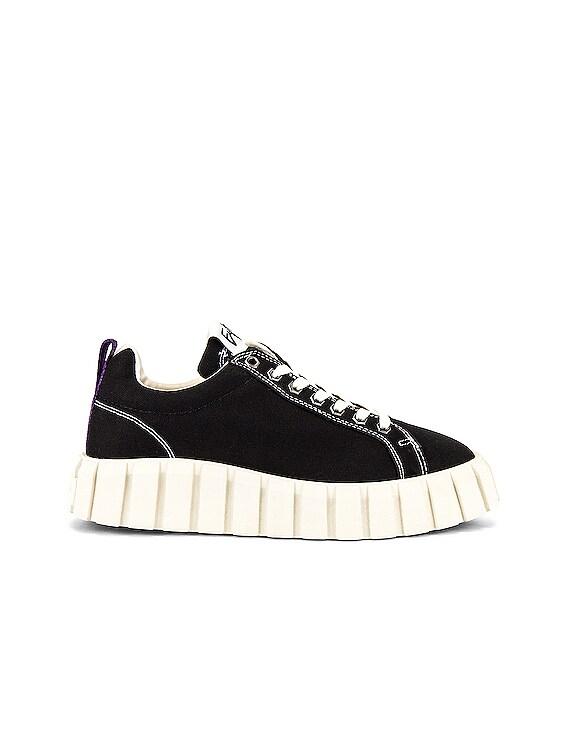 Odessa Canvas Sneaker in Black