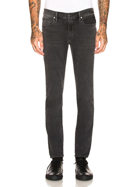 Denim L'Homme Skinny in Fade to Grey