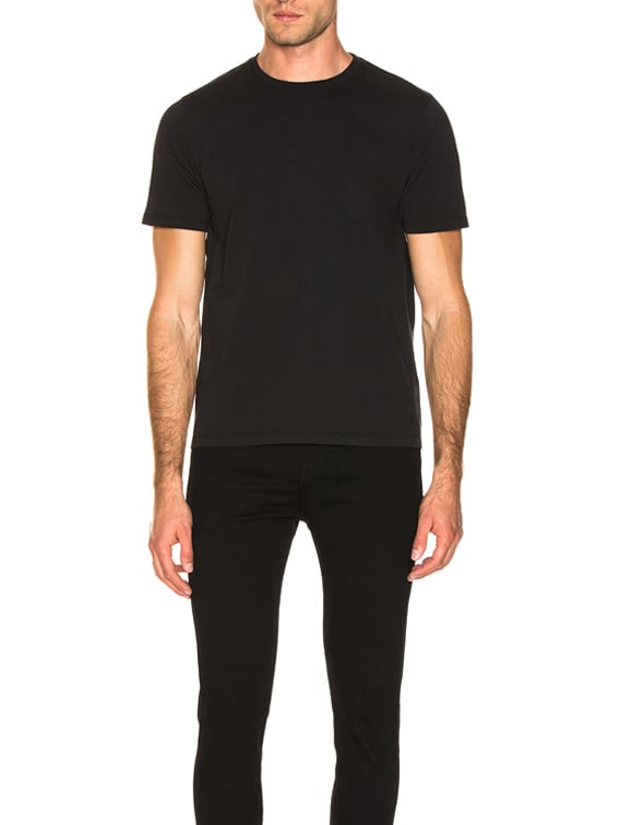 Heavyweight Classic Fit Tee in Black