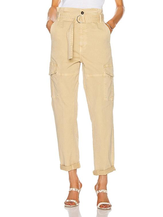 Safari Belted Pant in Cargo