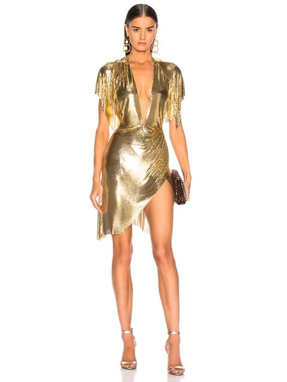 Jennifer Dress in Gold