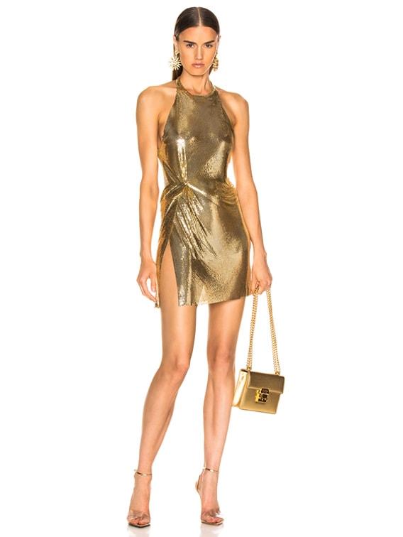 Alicia Dress in 18K Gold