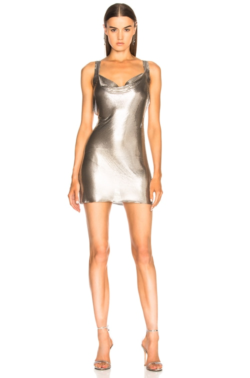 Hailey Dress in Silver