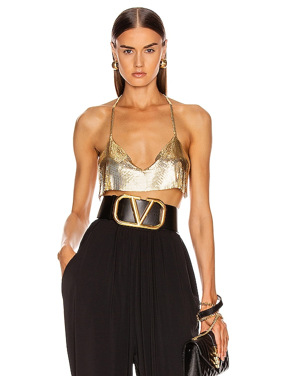 Lily Top in 18 Gold Plated