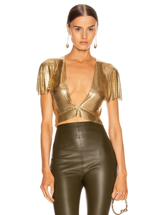 Diane Top in Gold