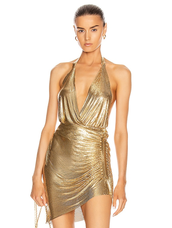 Cher Top in Gold
