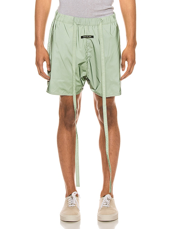 Military Physical Training Short in Army Iridescent