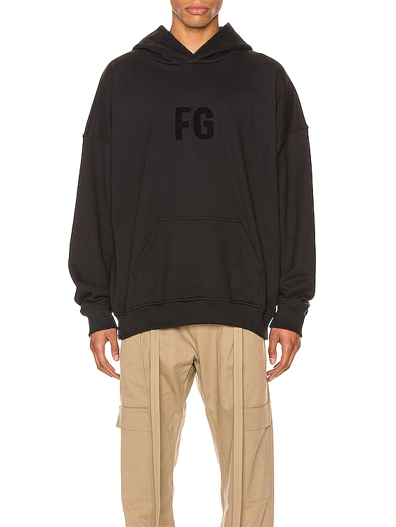 Everyday FG Hoodie in Vintage  Black & Black