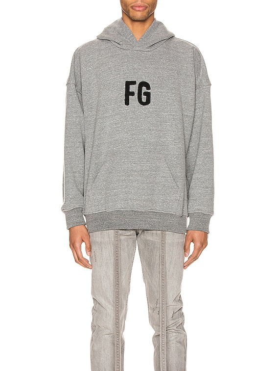 Everyday FG Hoodie in Heather Grey & Black