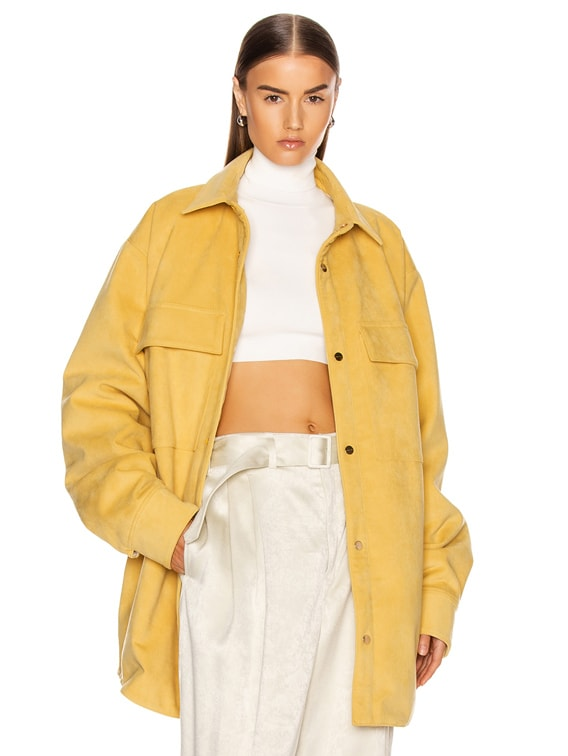 Fear of God Suede Shirt Jacket in