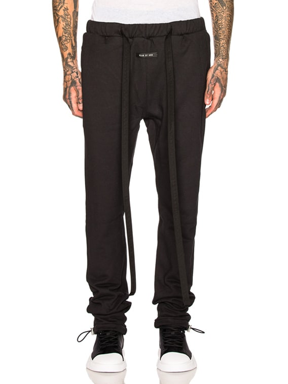 Core Sweatpant in Vintage Black