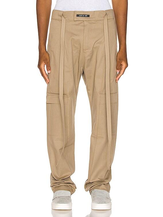 Baggy Cargo Trouser in Khaki