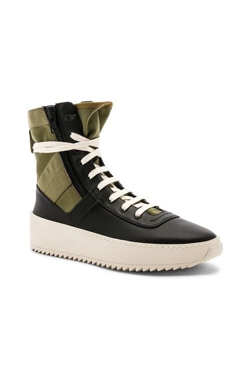 Fear of God Jungle Sneakers in Black
