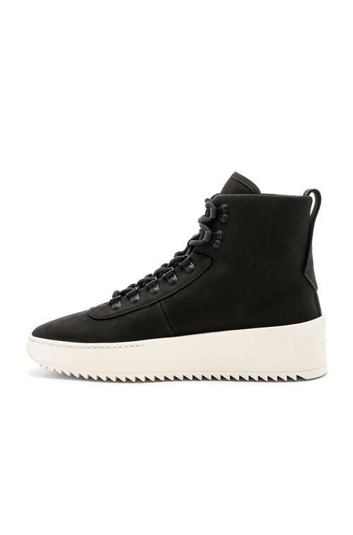 Fear of God Hiking Sneaker in Black   FWRD