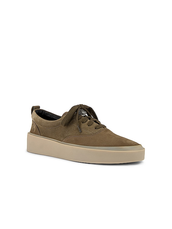 101 Lace Up Sneaker in Taupe