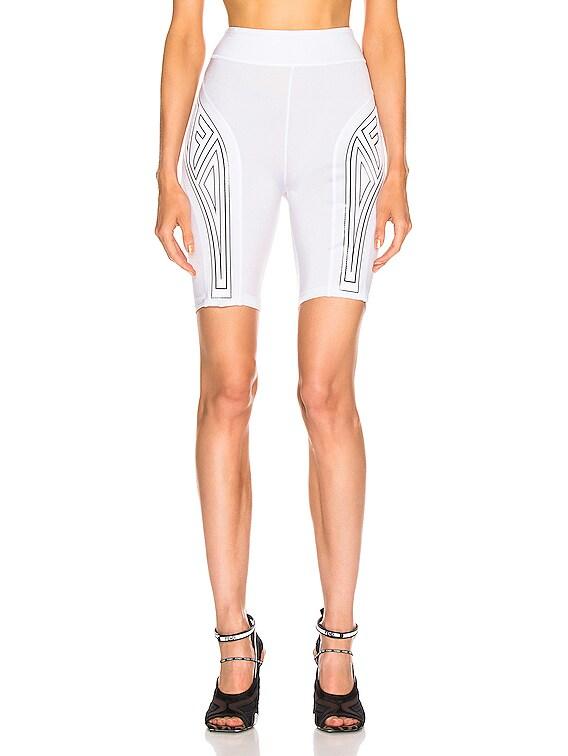 FFreedom Biker Short in White