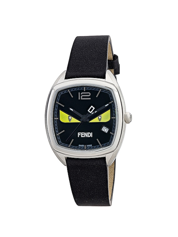 Momento Fendi Bugs Watch in Black