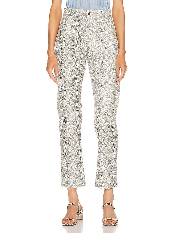 Python Pant in Ivory