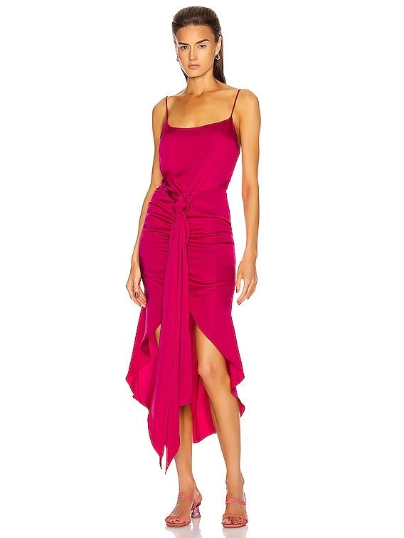 Natasha Dress in Hibiscus