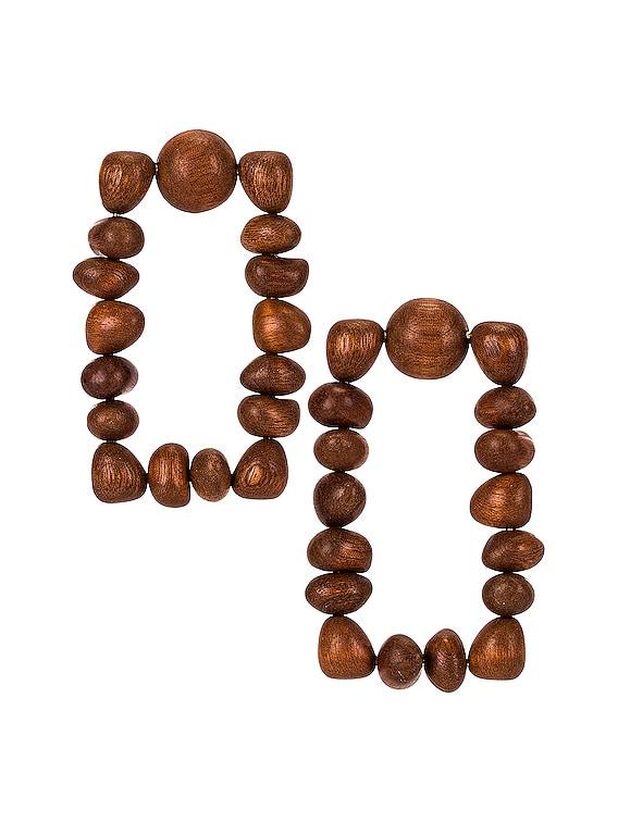 Dita Earring in Chestnut