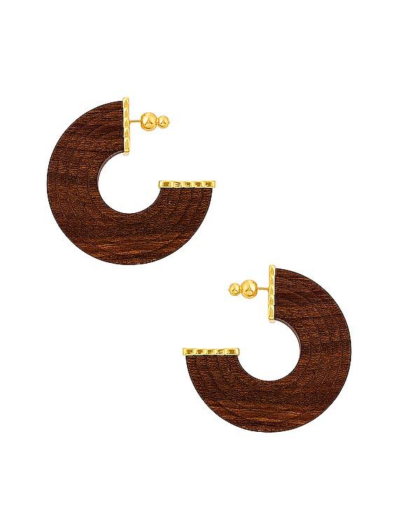 Nava Earring in Chestnut