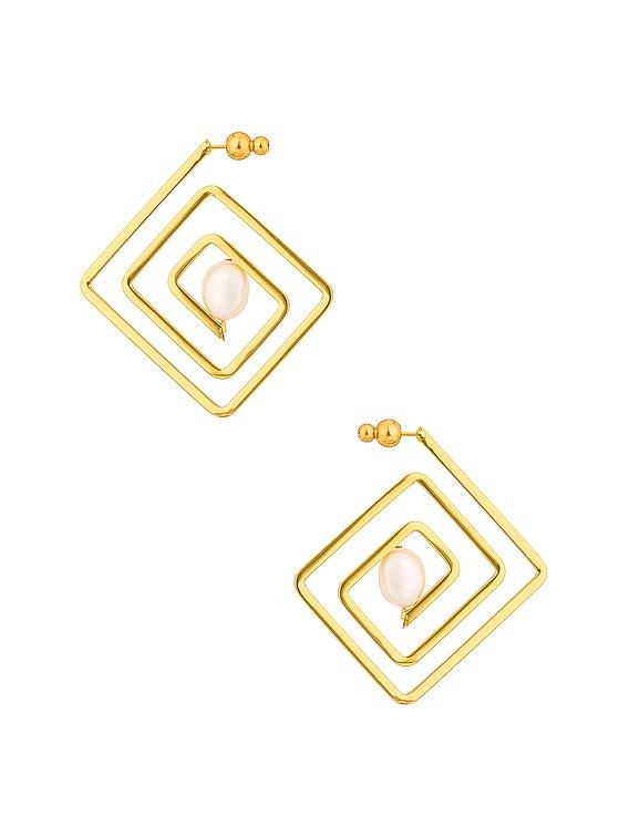 Ciara Earring in Gold