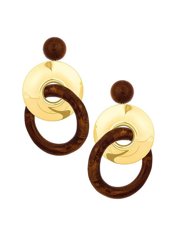 Sonya Earring in Chestnut Multi