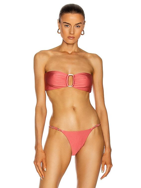 Lexi Bikini Top in Charleston