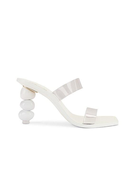 Meta Heel in White