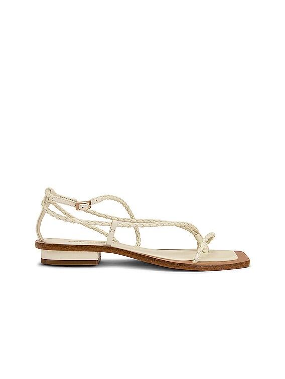 Juno Sandal in White