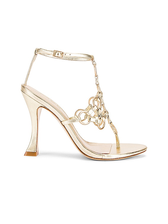 Athena Heel in Gold